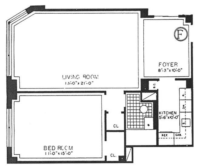 305 East 72nd Street, Upper East Side, NYC, $460,000, Web #: 466695