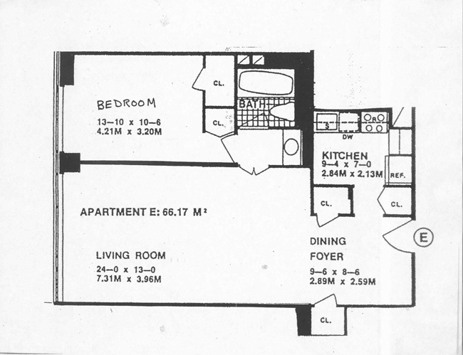 117 East 57th Street, Midtown East, NYC, $725,000, Web #: 470851