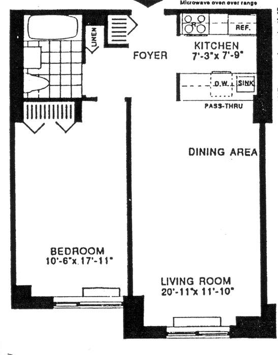 2 South End Avenue, Battery Park City, NYC, $421,000, Web #: 472613