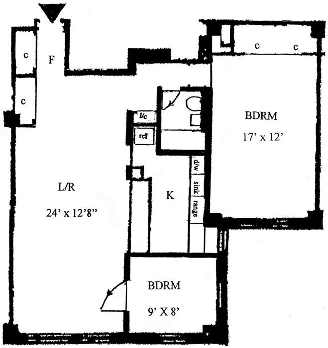 2 Tudor City Place, Midtown East, NYC, $670,000, Web #: 474944