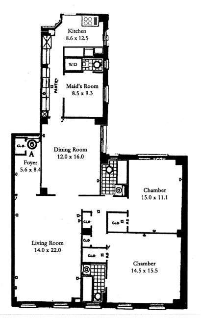 119 East 84th Street, Upper East Side, NYC, $1,650,000, Web #: 477760