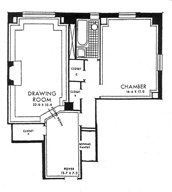 Central Park West, Upper West Side, NYC, $775,000, Web #: 479909