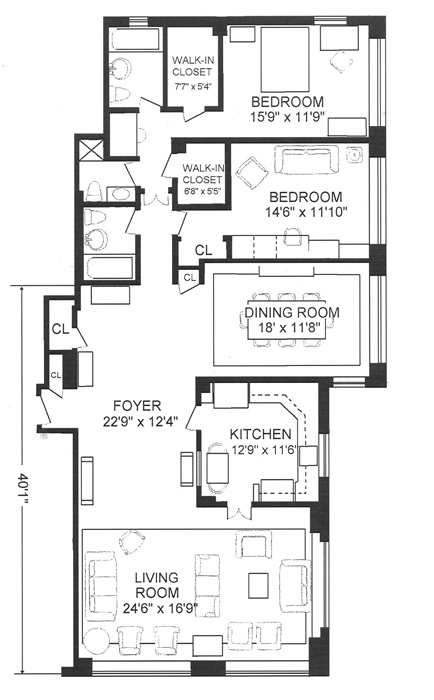 45 Sutton Place South, Midtown East, NYC, $1,882,000, Web #: 480131
