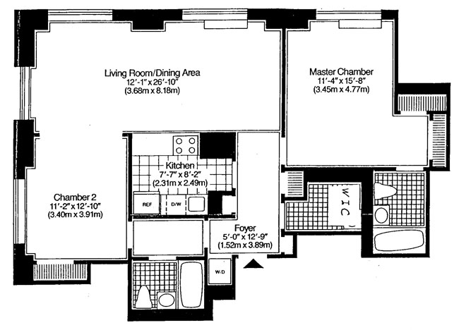 360 East 88th Street, Upper East Side, NYC, $999,000, Web #: 480143