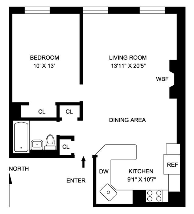354 West 23rd Street, Greenwich Village/Chelsea, NYC, $599,000, Web #: 480838