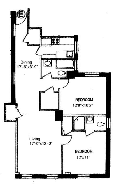 205 West 54th Street, Midtown West, NYC, $790,000, Web #: 486946