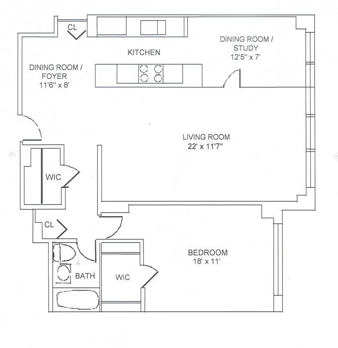 340 East 74th Street, Upper East Side, NYC, $600,000, Web #: 490546