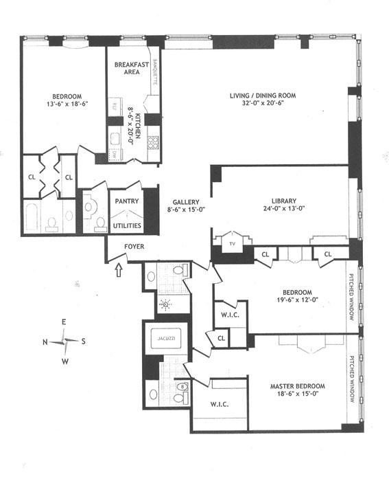 15 West 53rd Street, Midtown West, NYC, $5,500,000, Web #: 494573