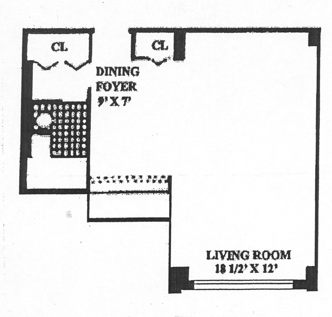 145 East 15th Street, East Village, NYC, $350,000, Web #: 496958