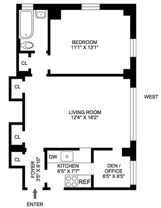 240 East 79th Street, Upper East Side, NYC, $510,000, Web #: 499998