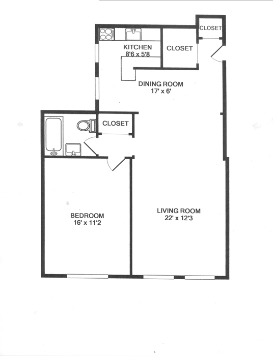 205 West 54th Street, Midtown West, NYC, $580,000, Web #: 500122