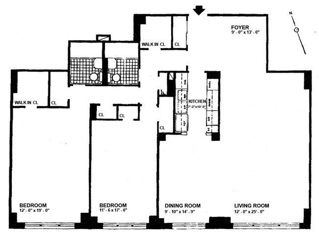 1050 Fifth Avenue, Upper East Side, NYC, $2,650,000, Web #: 502961