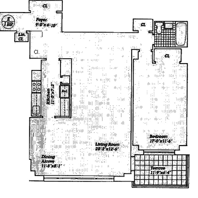 170 West End Avenue, Upper West Side, NYC, $737,500, Web #: 505960
