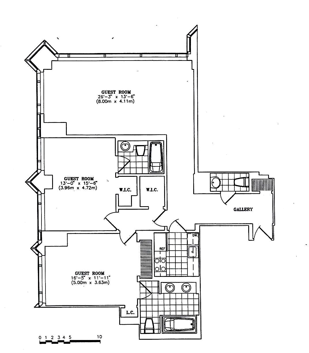 1 Central Park West, Upper West Side, NYC, $2,850,000, Web #: 510625