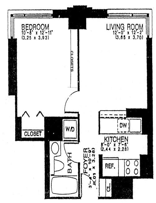 524 East 72nd Street, Upper East Side, NYC, $535,000, Web #: 511155