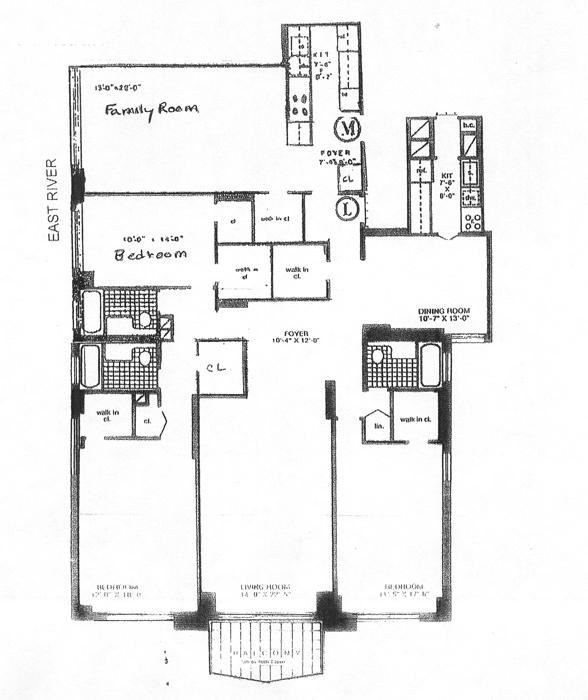 400 East 56th Street, Midtown East, NYC, $1,625,000, Web #: 513262