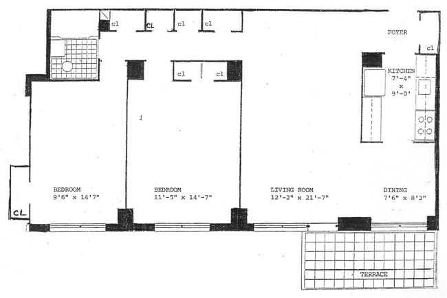 303 West 66th Street, Upper West Side, NYC, $825,000, Web #: 513589