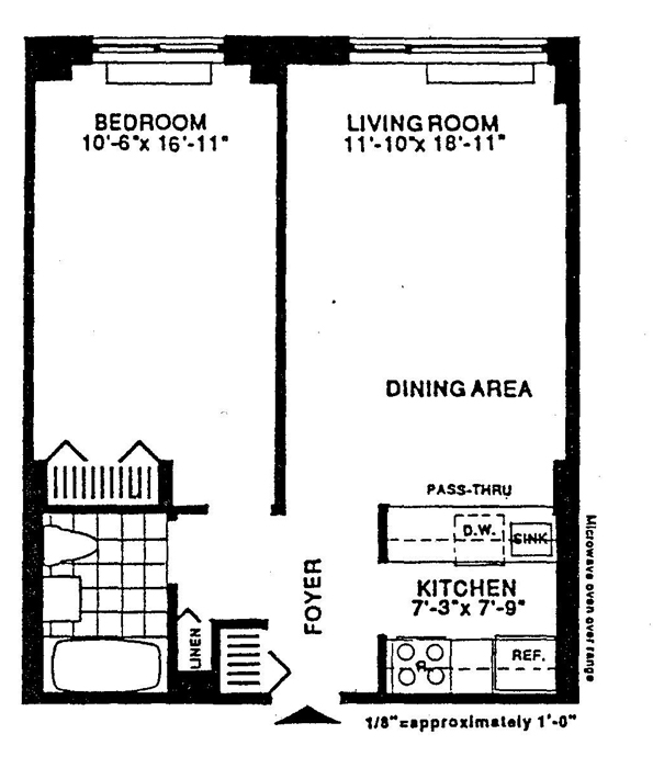 2 South End Avenue, Battery Park City, NYC, $430,000, Web #: 513941