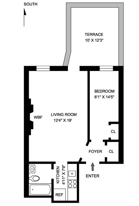 28 West 87th Street, Upper West Side, NYC, $443,000, Web #: 517669