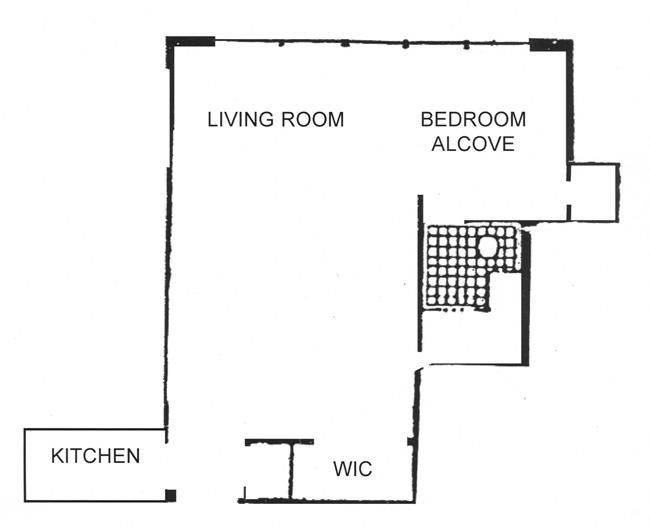 55 East 9th Street, East Village, NYC, $465,000, Web #: 528244