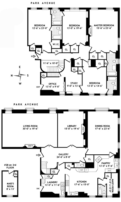 770 Park Avenue, Upper East Side, NYC, $17,500,000, Web #: 565897