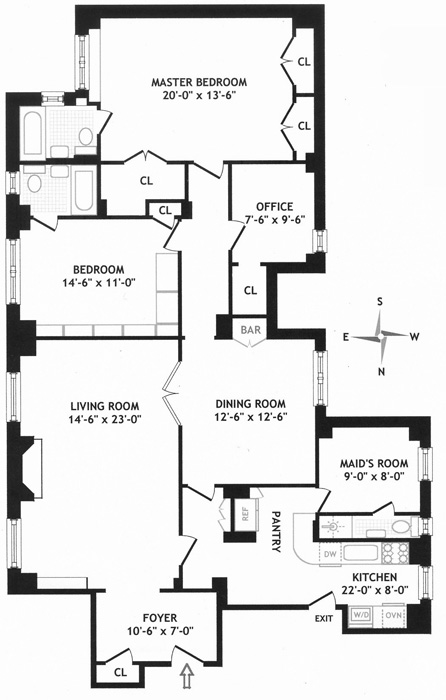 975 Park Avenue, Upper East Side, NYC, $2,350,000, Web #: 570970