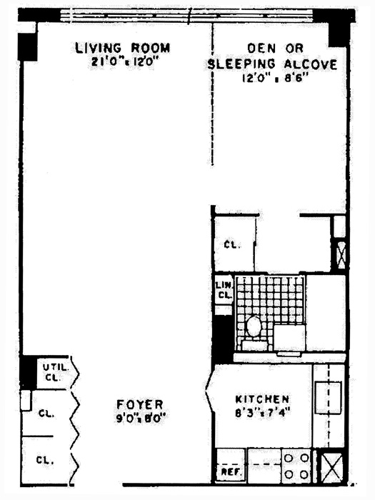 305 East 40th Street, Midtown East, NYC, $458,000, Web #: 573790