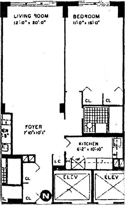 220 East 54th Street, Midtown East, NYC, $490,000, Web #: 592643