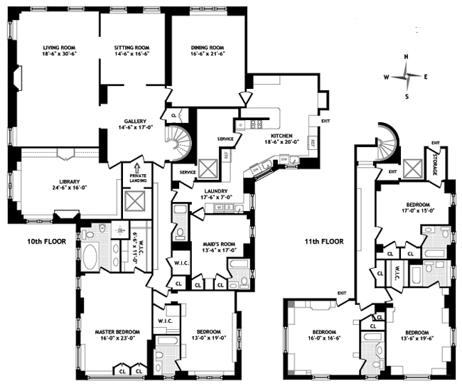 730 Park Avenue, Upper East Side, NYC, $21,500,000, Web #: 597277
