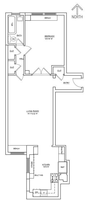 12 East 97th Street, Upper East Side, NYC, $700,000, Web #: 739915