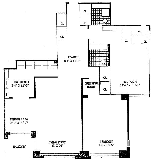415 East 52nd Street, Midtown East, NYC, $1,170,000, Web #: 743729