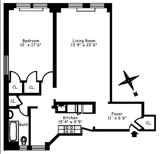 179 East 79th Street, Upper East Side, NYC, $780,000, Web #: 750878