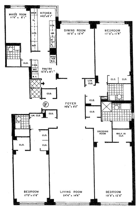 8 East 83rd Street, Upper East Side, NYC, $3,300,000, Web #: 751806