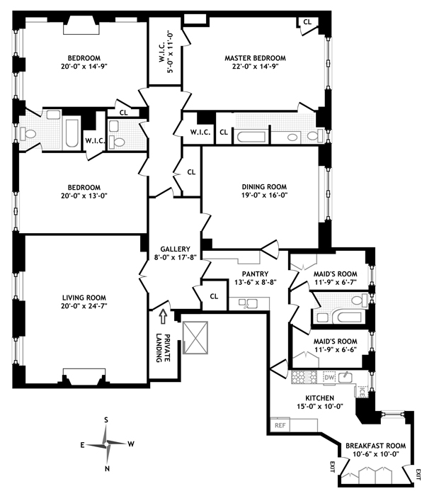 730 Park Avenue, Upper East Side, NYC, $4,900,000, Web #: 752180