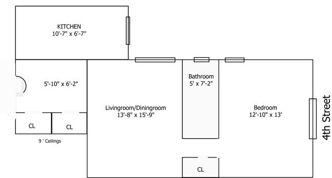 99 East 4th Street, East Village, NYC, $650,000, Web #: 752511