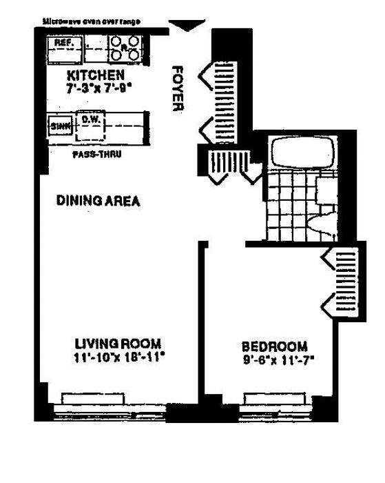 2 South End Avenue, Battery Park City, NYC, $455,000, Web #: 759245