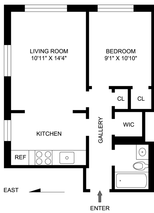 38 Gramercy Park, Flatiron/Gramercy Park, NYC, $680,000, Web #: 762390