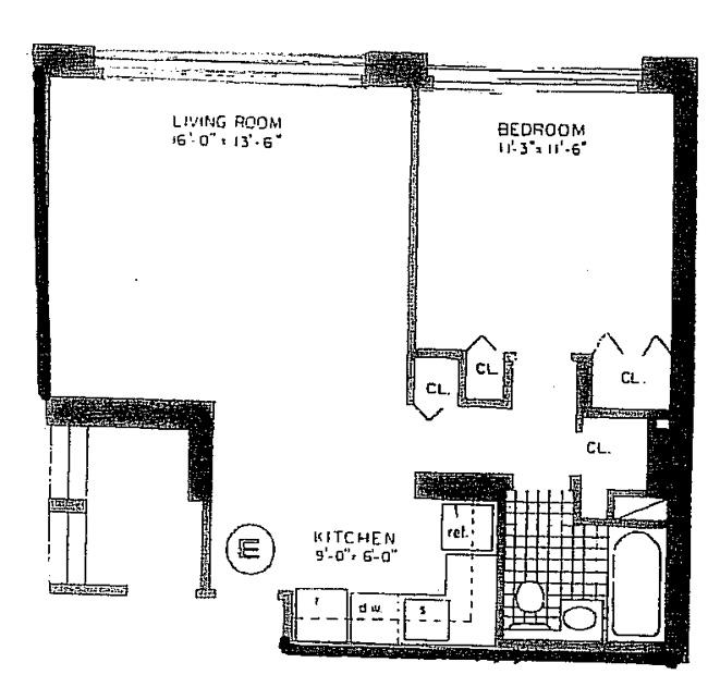 333 East 45th Street, Midtown East, NYC, $635,000, Web #: 763480