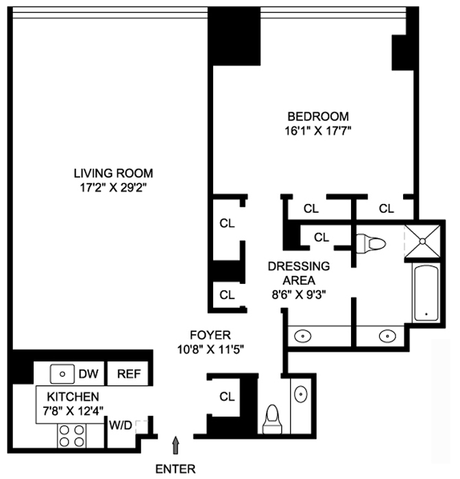 641 Fifth Avenue, Midtown East, NYC, $2,125,000, Web #: 764414