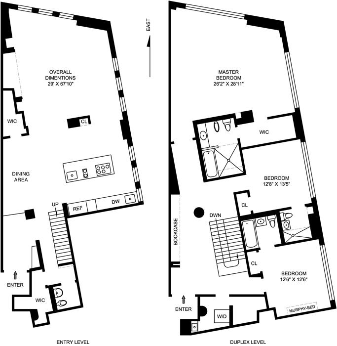 Stunning Astor Place Duplex Loft, East Village, NYC, $6,300,000, Web #: 765565