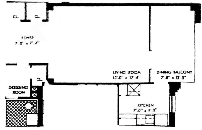 7 Lexington Avenue, Flatiron/Gramercy Park, NYC, $625,000, Web #: 768109