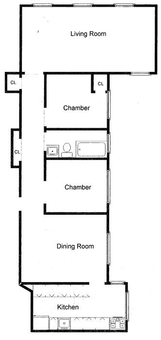 126 West 11th Street, Greenwich Village/Chelsea, NYC, $1,349,000, Web #: 775143