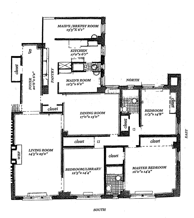 55 East 86th Street, Upper East Side, NYC, $4,175,000, Web #: 787153