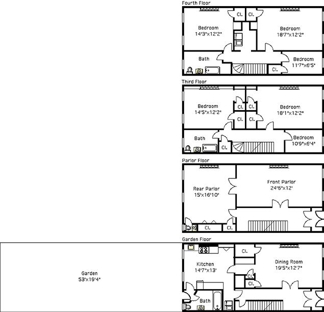 Saint James Place, Brooklyn, New York, $1,400,000, Web #: 904142