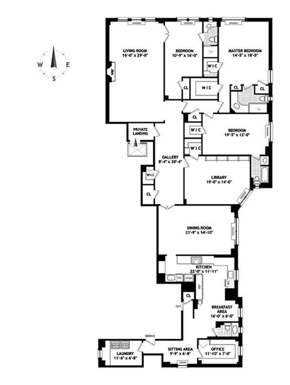 911 Park Avenue, Upper East Side, NYC, $8,150,000, Web #: 9111688