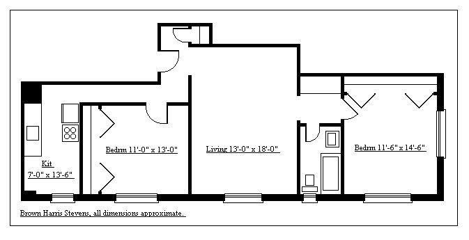 Designer Two Bedroom, Brooklyn, New York, $969,000, Web #: 9297278