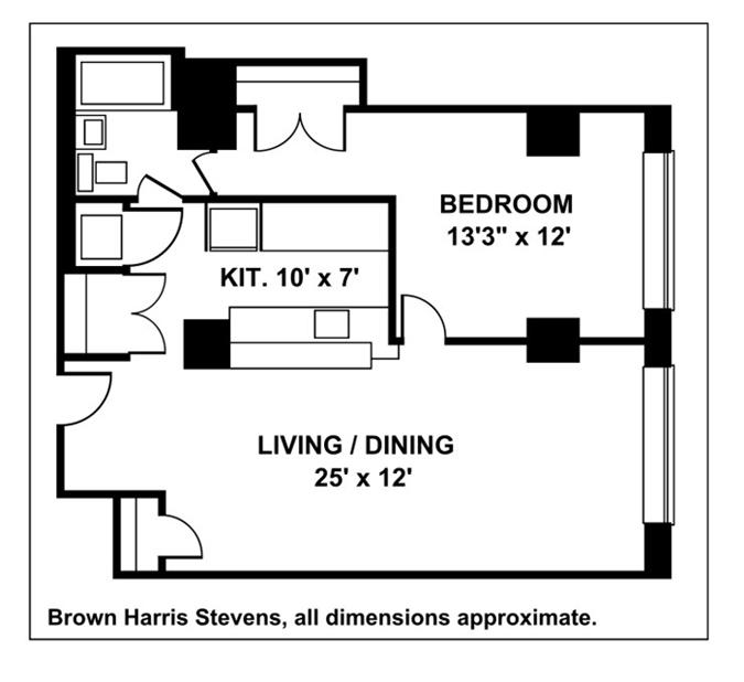 Waterfront Living In Williamsburg, Brooklyn, New York, $650,000, Web #: 9332461