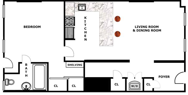 Beautiful Garden Apartment, Brooklyn, New York, $3,250, Web #: 9426495