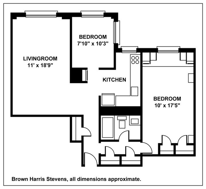 210 Clinton Avenue, Brooklyn, New York, $425,000, Web #: 9607732