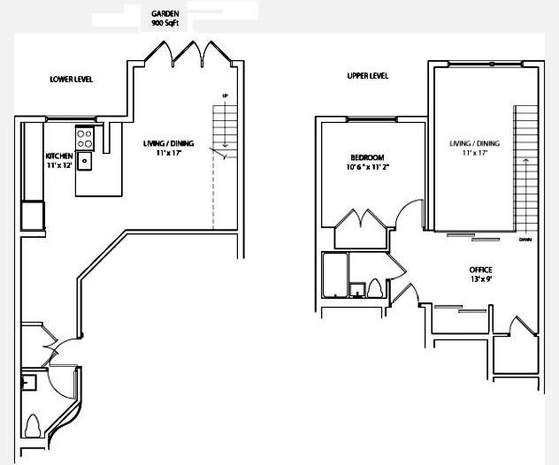 Loft-Like Duplex With Garden, Brooklyn, New York, $750,000, Web #: 9873000